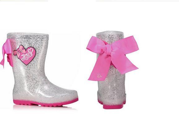 JoJo Siwa Glitter Wellington Boots
