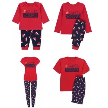 c82fe54da4a4 BARGAIN! - Santa Squad Matching Family Christmas Pyjamas