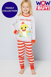 BARGAIN! - Baby Shark Family Christmas Pyjamas | Bargain ...