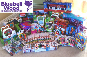 Toy Donation For Bluebell Wood