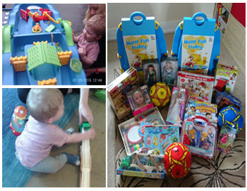 Toy Donation to Freedom Nursery and Pre School