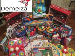 Toy Donation For Demelza
