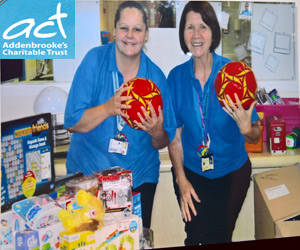 Toy Donation For The Play Specialist at Addenbrookes Hospital