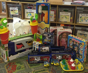 Toy Donation to Pavillion Playschool