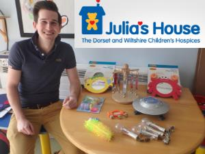 Sensory Toys Donation For Julias House