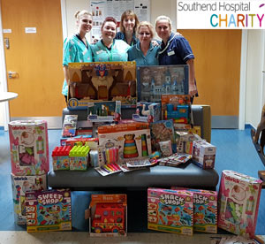 Toy Donation For The Childrens Ward at Southend Hospital