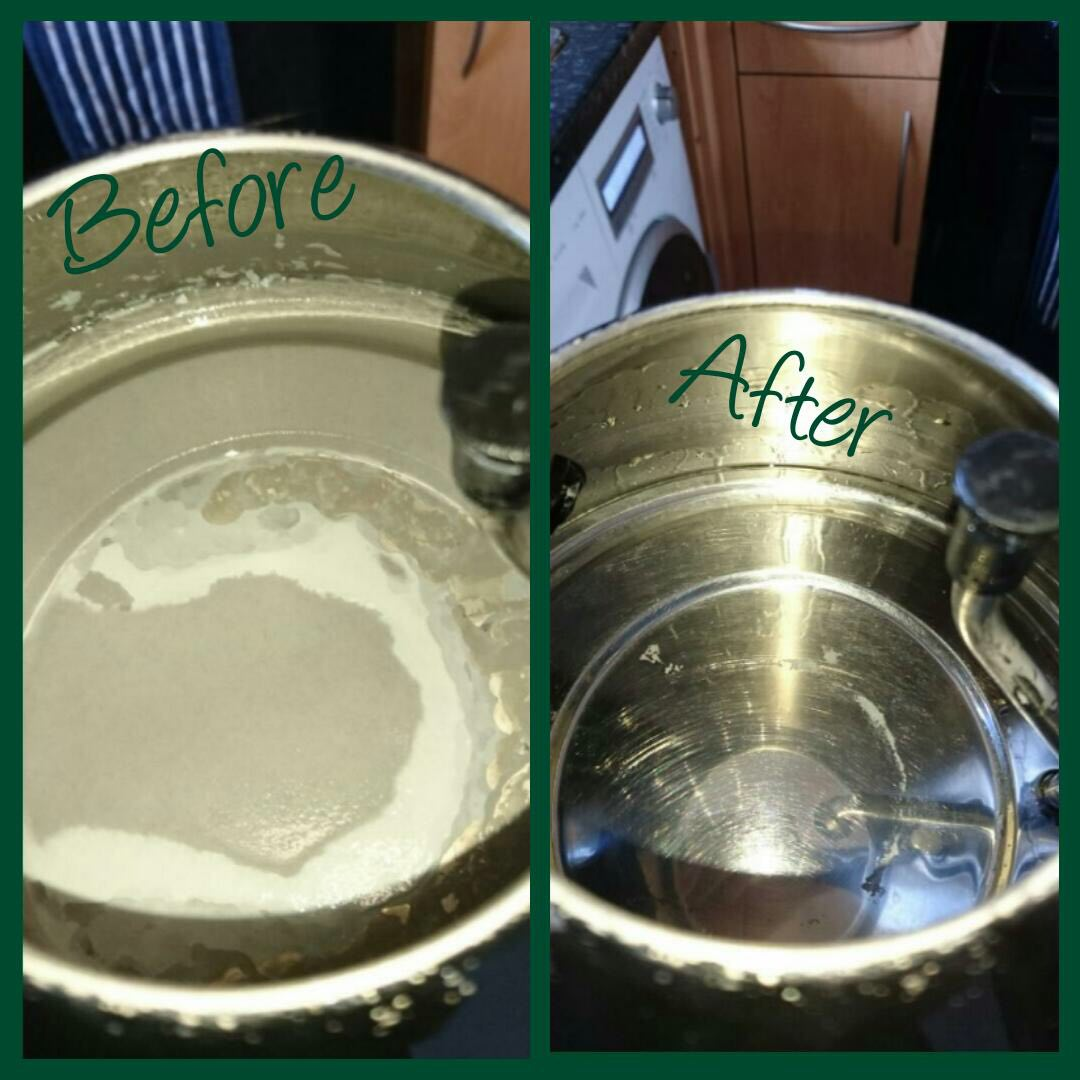 Kettle before and after