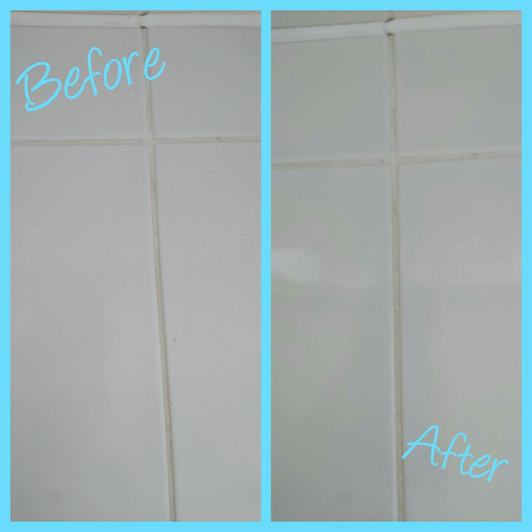 before after tiles