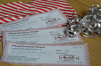 Christmas Cheques