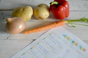 Meal planning - essential lists