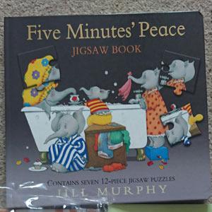 Five Minutes Peace jigsaw book