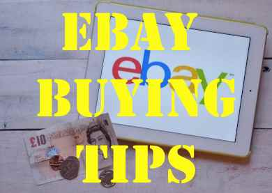 Ebay  Buying Tips