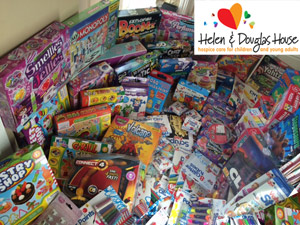 Toy Donation For Helen & Douglas