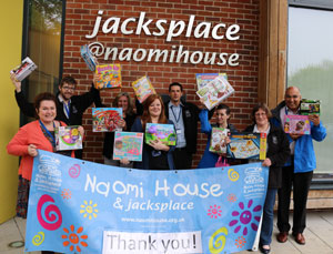Donation For Naomihouse and jacksplace