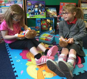 Toy Donation to Portfield Primary School